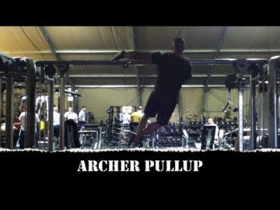Advanced Bodyweight Exercise - Archer Pull-Up