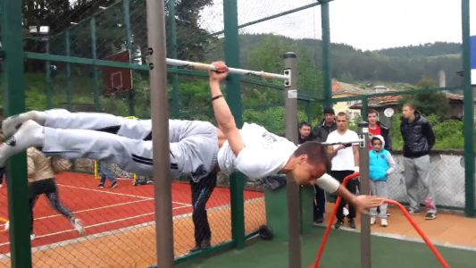 Street Workout Competition - Chepelare 31.05.2014