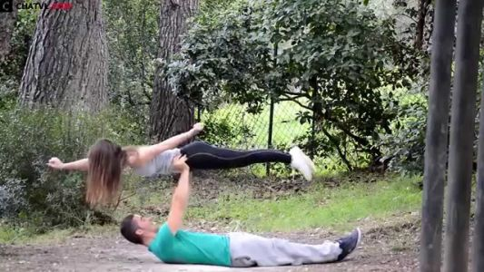 Cute Couple 2015: Street Couple Workout - HOT Finess Tumblr part 4