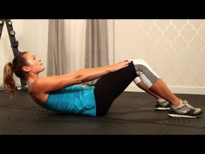 How to Do a Crunch Correctly, Ab Exercise, Fit How To