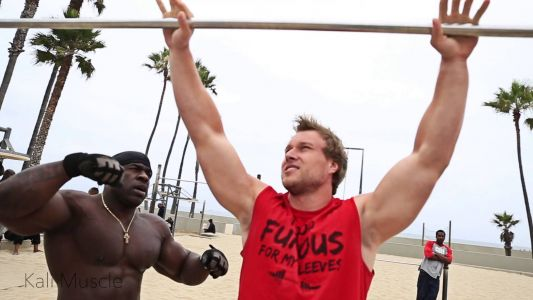 MUSCLE UPS ft.Furious Pete & Big J
