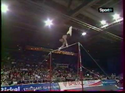 High bar (horizontal bar)