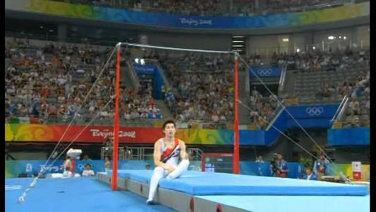 Mens Gymnastics Falls and Crashes: The Disappointment
