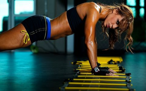 push up girl