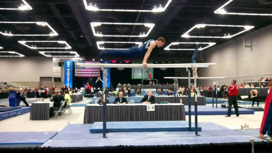 JO Nationals 2nd Day- Parallel Bars