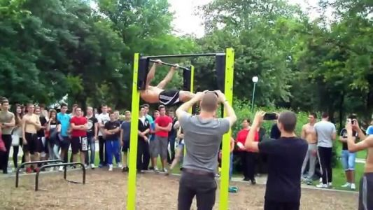 Competition on Street Fitness in Plovdiv/Bulgaria 18.05.2014